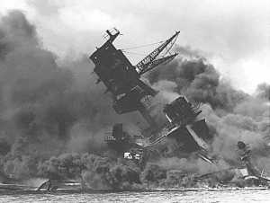 Pearl Harbor, Dec. 7, 1941. The ultimate economic stimulus trigger.