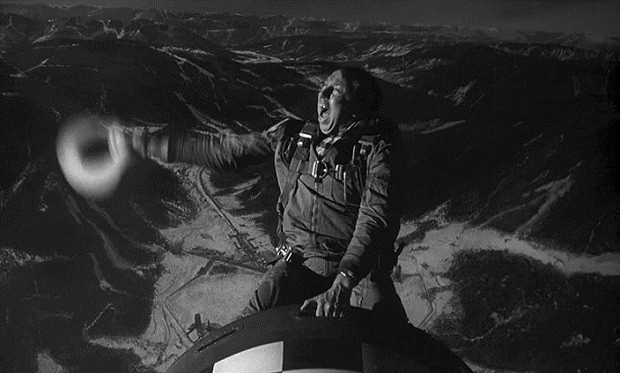 "Slim Pickens rides the bomb in 'Dr. Strangelove."" No worries."