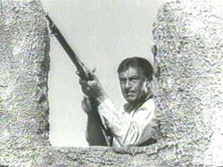 Gary Cooper at the doomed desert fort in Beau Geste. Who will hold down the fort at the Inquirer?