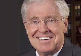 Charles Koch looks like a nice guy posing for a dentures ad, but he's your enemy unless you're rich.